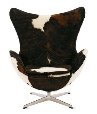 Cowhide Egg Chair