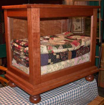 Quilt Display Cabinet  DWR Custom Woodworking