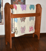 Wooden Quilt Stands & Custom Quilt Display Racks