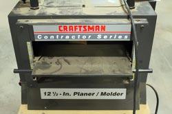 Craftsman 15 Planer