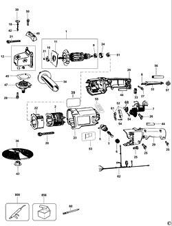 DEWALT N034009 Module Service Kit . DEWALT Variable Speed