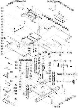 Hitachi 973852 Setting Gauge A Assy P12RA . Hitachi 879208