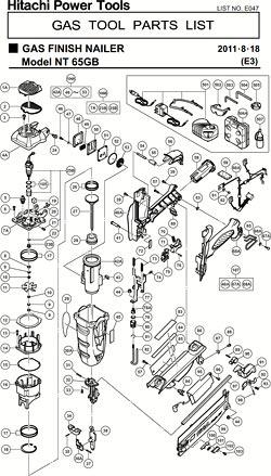Hitachi 886320 Replacement Part for Power Tool. Hitachi