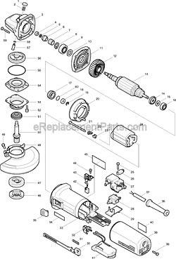 Makita 153489-2 36 Grip . Makita 664265-4 Cord for Saw and