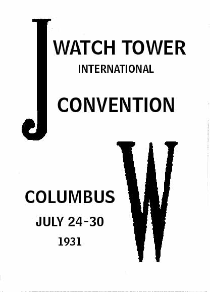Convention Program Covers