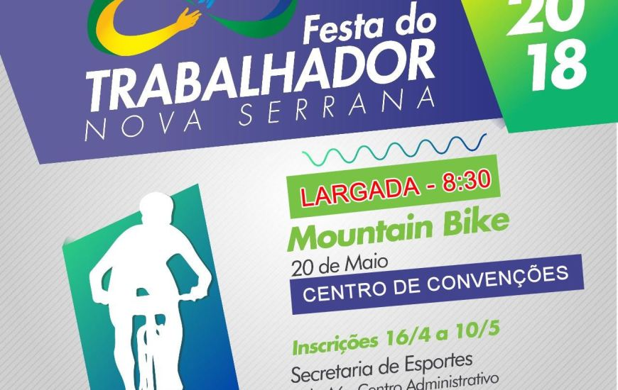 Moutain Bike Nova Serrana 20/05/18