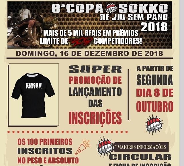 8ª Copa Sokko Jiu Jitsu