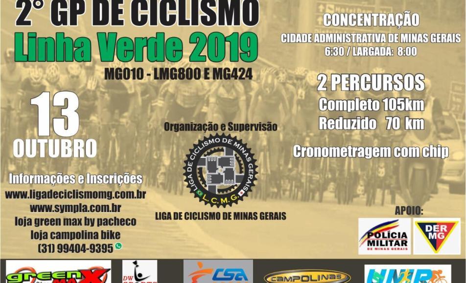2º GP DE CICLISMO LINHA VERDE 2019