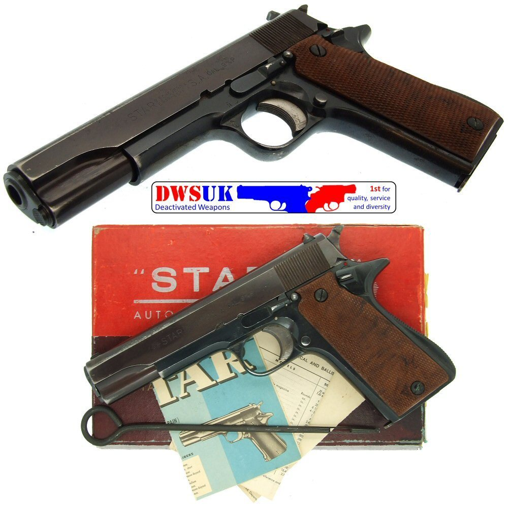 medium resolution of  star model b 9mm auto boxed