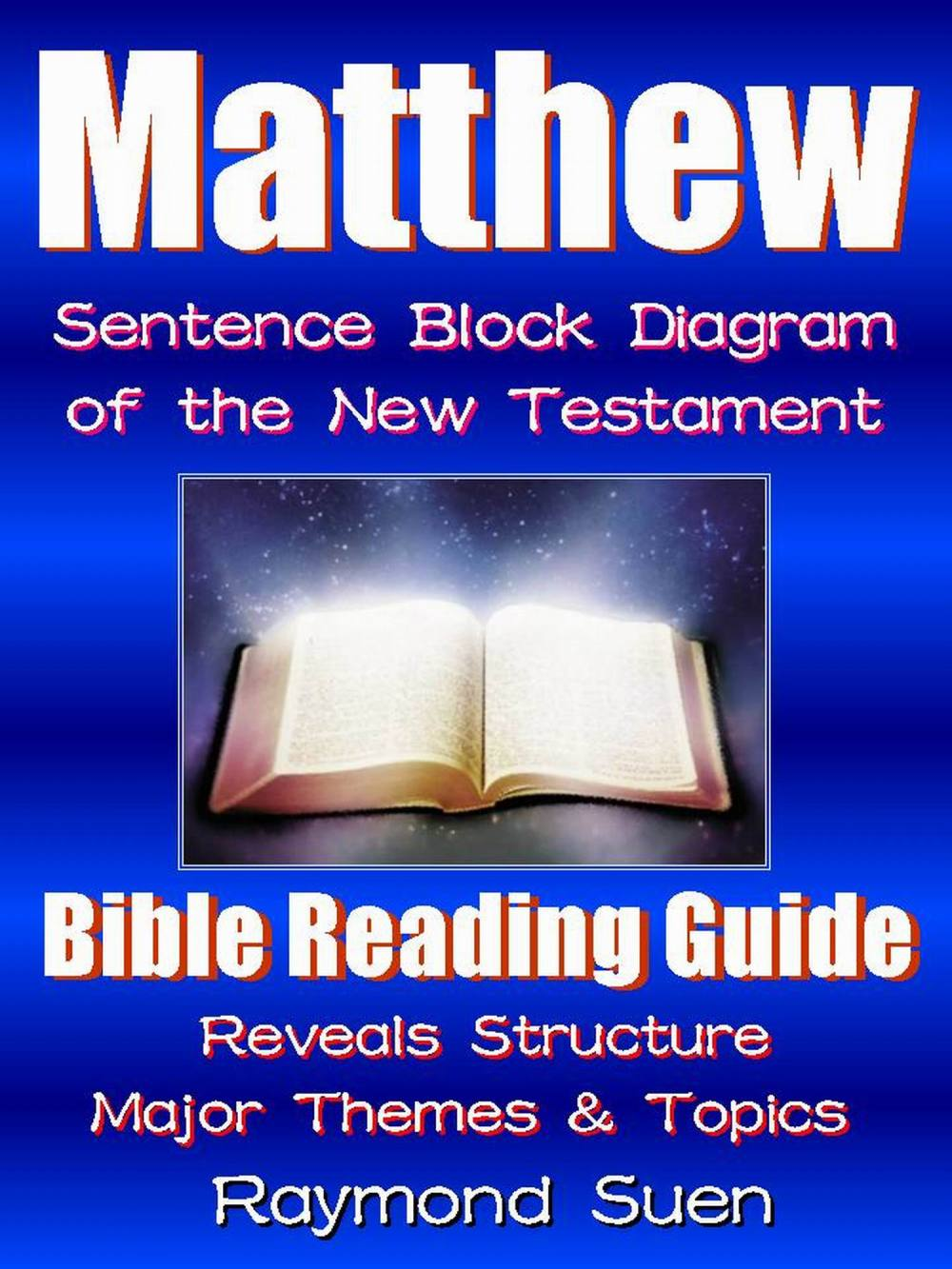 medium resolution of matthew bible reading guide with sentence block diagram structure theme