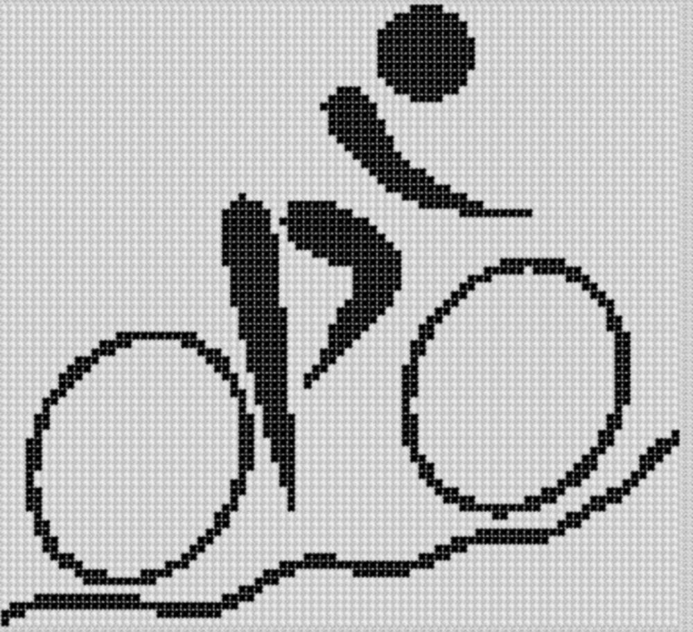 Smashwords – Mountain Bike Cross Stitch Pattern