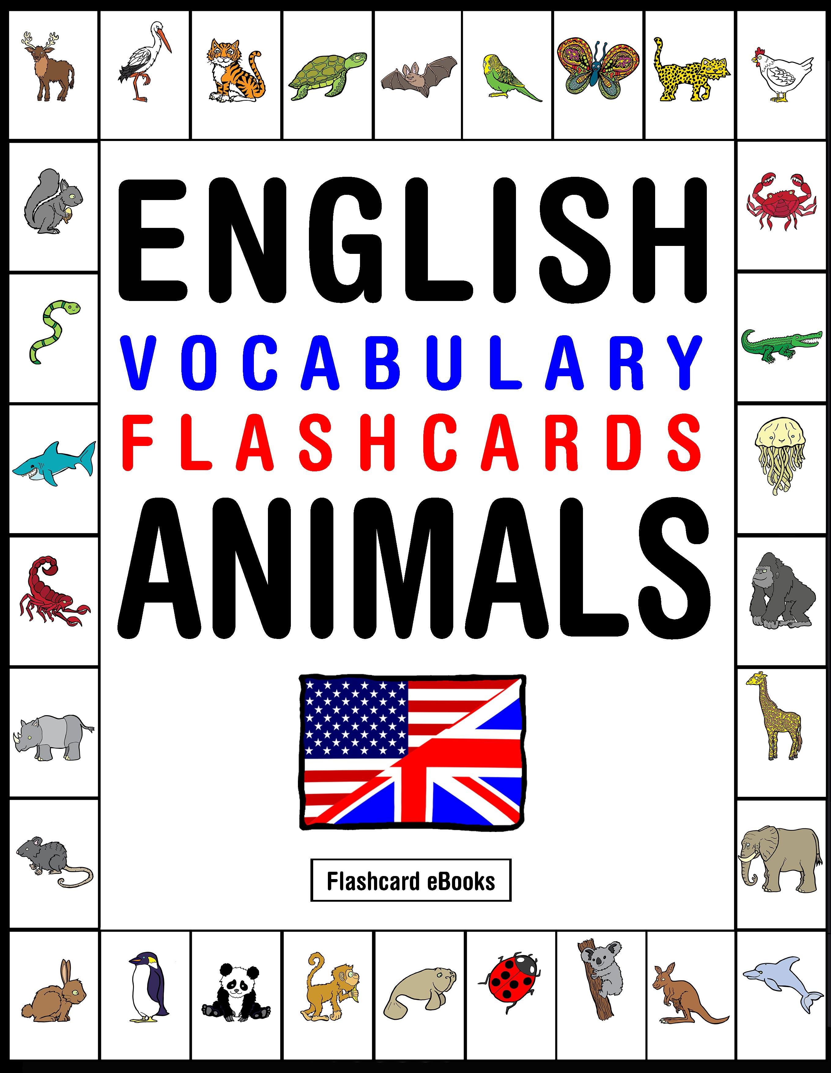 Smashwords  English Vocabulary Flashcards  Animals  A Book By Flashcard Ebooks