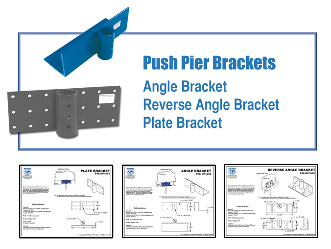 Dwyer's Push Pier Brackets