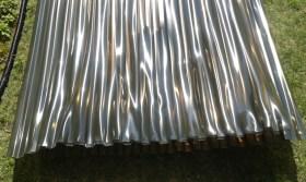 PVC Lichtplatten verformt durch Sonneneinstrahlung