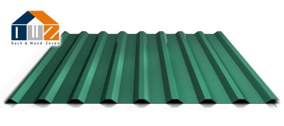 Trapezblech PS20/1100 Dach Nadelgrün