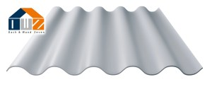 Faserzementwellplatten