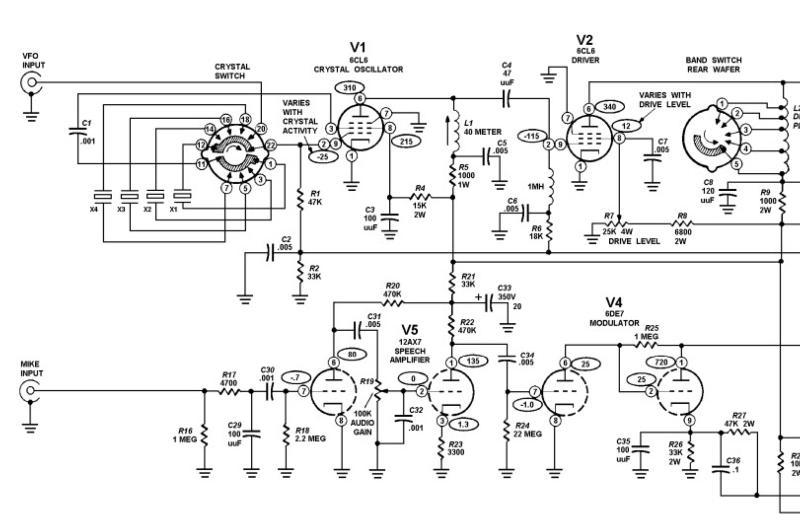 Heathkit DX-60 AM Net