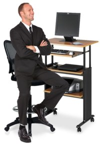 Standing Desk, Stand-Up Desk, Adjustable Height Desk