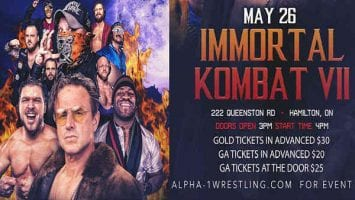 Alpha 1 Wrestling 2019 Immortal Kombat VII