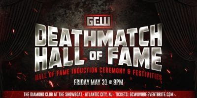 GCW The Deathmatch Hall Of Fame Ceremony