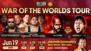 ROH War Of The Worlds Tour