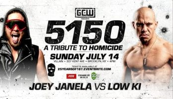 GCW 5150 A Tribute to Homicide