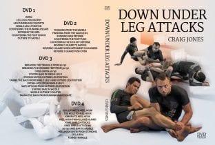 Craig Jones Down Under Leg Attacks 4 DVD