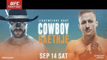 UFC Fight Night Cerrone vs Gaethje