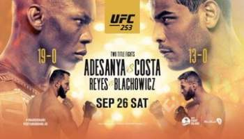 Watch Ufc 253 1080p Free Full Show Online Dx Tv Com