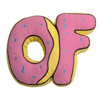 "Odd Future OF DONUT PILLOW 8"""""