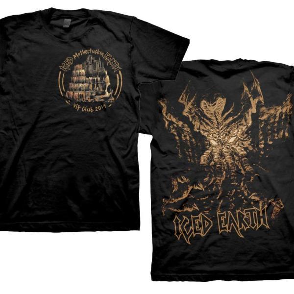 Iced Earth 2014 Fan Club T-shirt