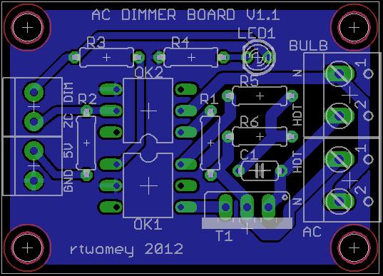 Ac Motor Schematic Diagram Ac Dimmer Circuit Dxarts University Of Washington