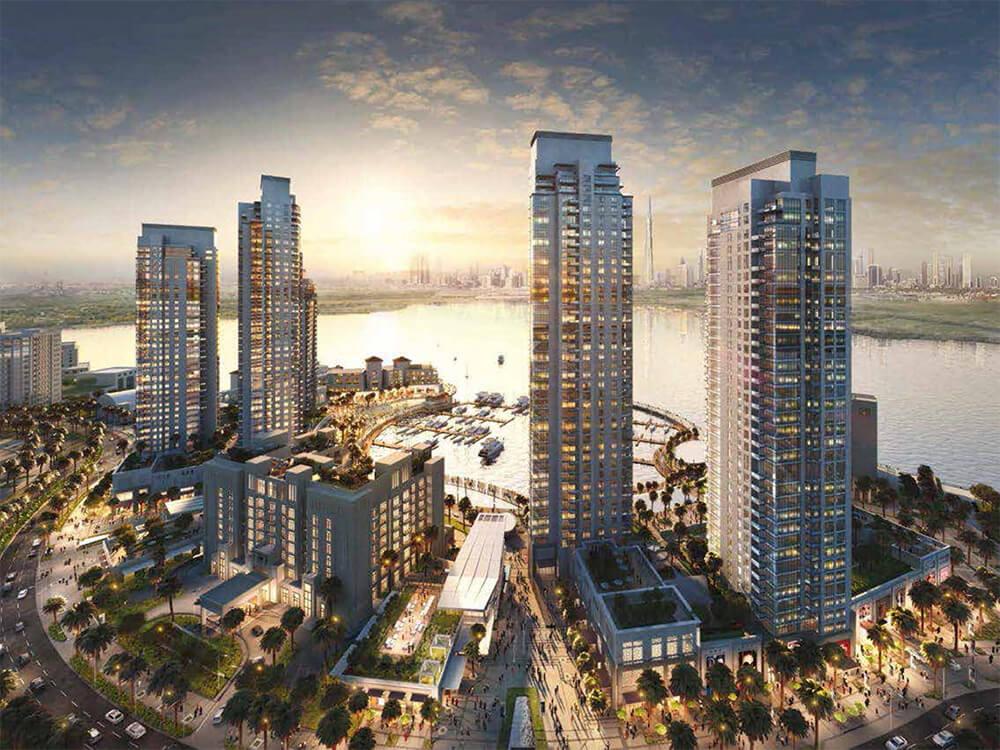Creek Horizon  Elegant Apartments in Dubai Creek Harbour