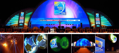 fifaDubai Sports Council, FIFA draw event