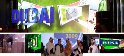 Dubai Sports Council, FIFA media event and closing ceremony