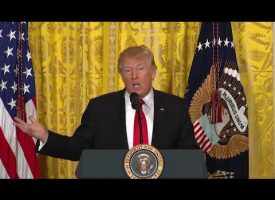 Trump does something right! Very good press conference today