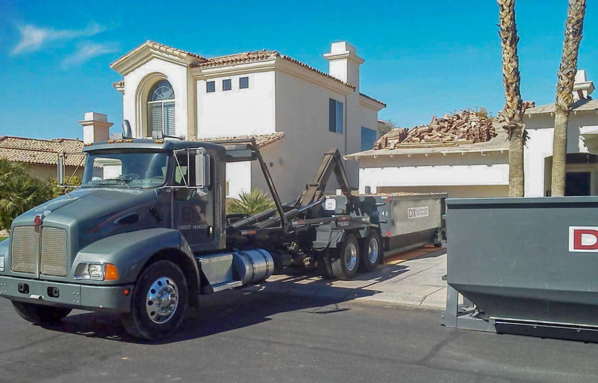 20 yard Phoenix dumpster
