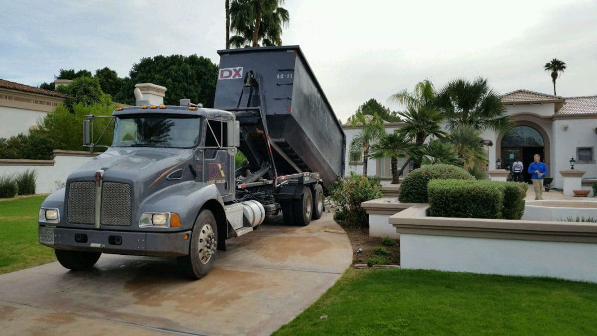20 yard Fountain Hills dumpster