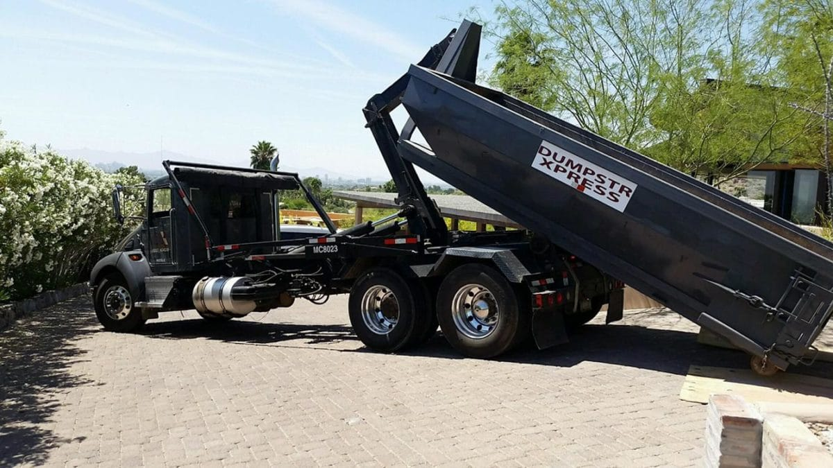 10 yard Fountain Hills dumpster
