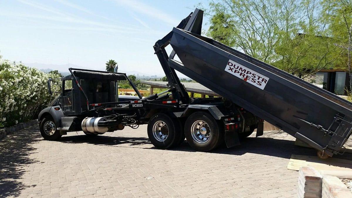 10 yard Surprise dumpster