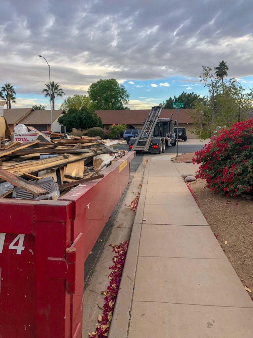 Mesa Arizona Dumpster Rental AzSpruceUp