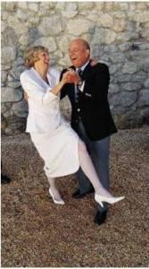 Seniors dancing