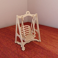 Free Puzzle Rocking Chair Plans