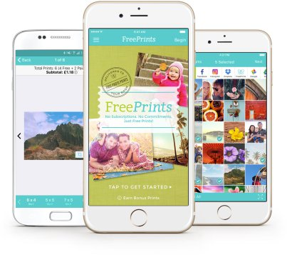 FreePrints for iPhone and Android