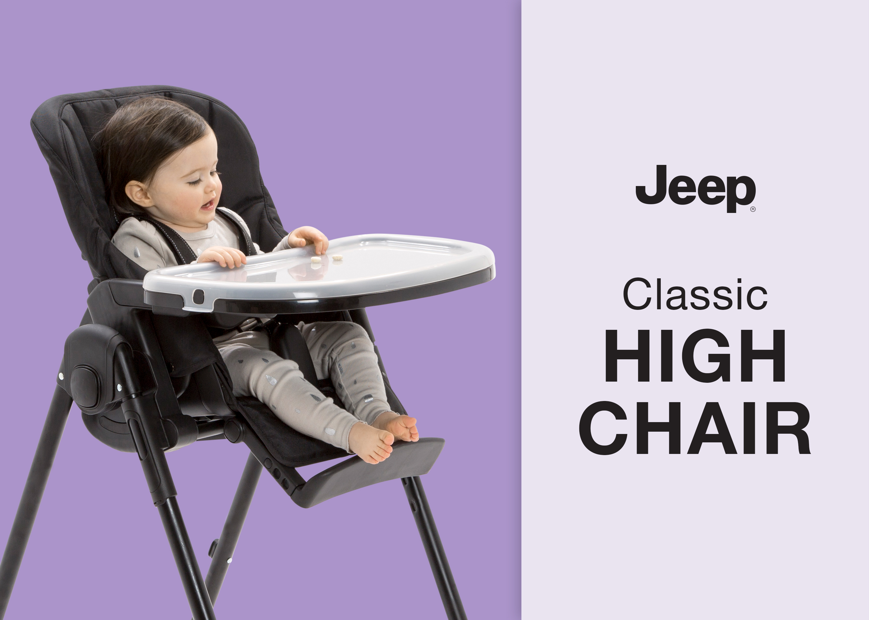 Delta Children Chair Jeep Classic Convertible High Chair For Babies And Toddlers