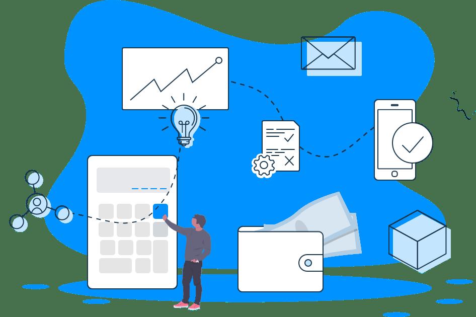 Loan Application Flow Illustration