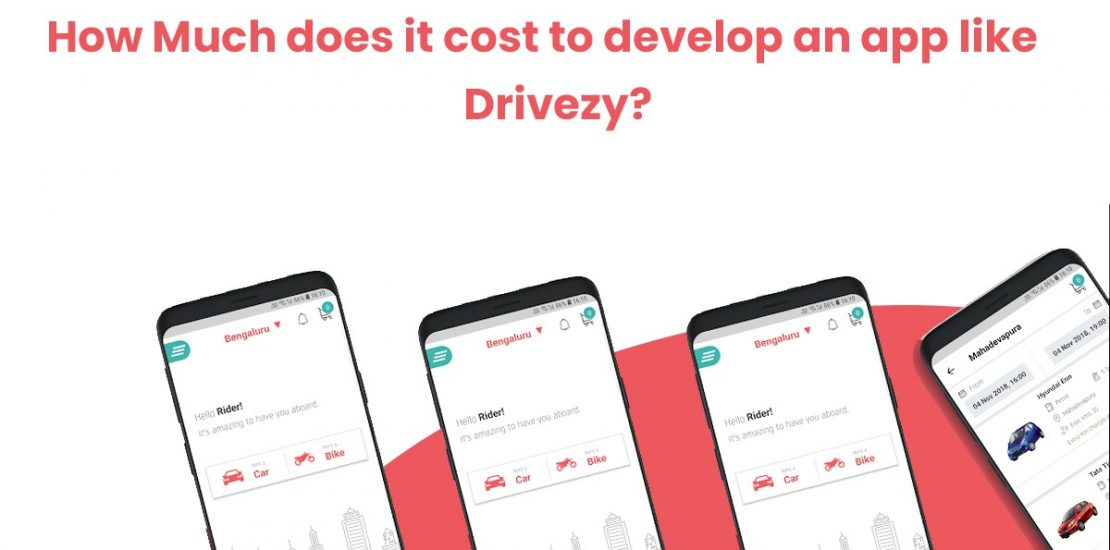 how much does it cost to develop an app like drivezy