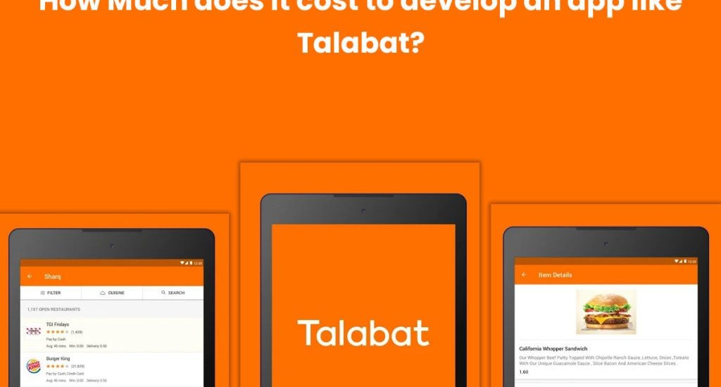 How much does it cost to develop an app like Talabat