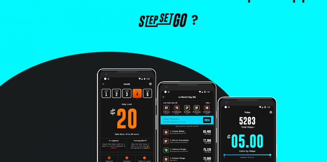 how much does it cost to develop an app like stepsetgo