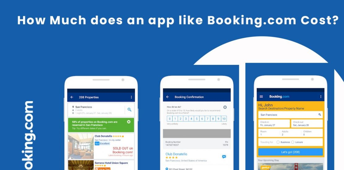 How Much does an app Like Booking.com Cost?